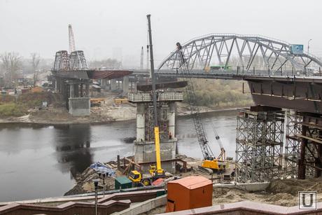 Новый мост через Туру. Тюмень, стройка, мост
