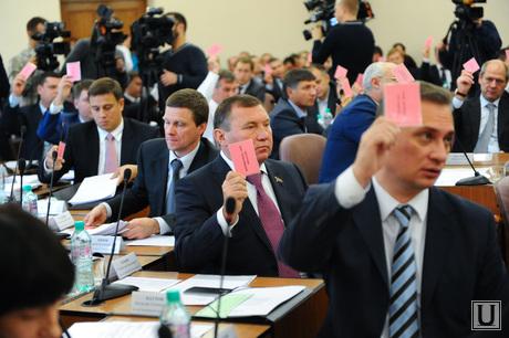 Заседание городской думы. Челябинск., паутов виталий, шмидт андрей