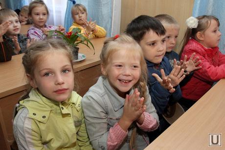 Открытие церковной школы Курган, дети, церковная школа