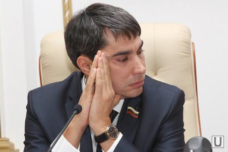 Совместное заседание комитетов областной Думы  Курган, кафеев евгений