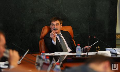 Заседание правительства области. Челябинск, комяков сергей
