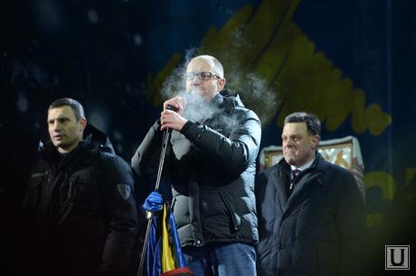 Евромайдан. Киев. Украина, кличко, яценюк, тягнибок