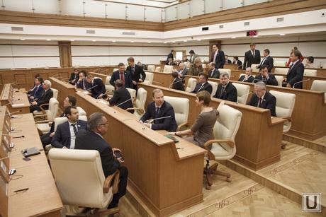 Встреча Куйвашева с депутатами заксобрания, заксобрание, депутат облдумы, зал заседаний думы, депутаты заксобрания, свердловский парламент