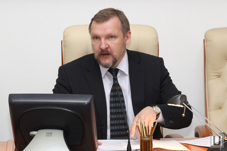 Совещание у Губернатора Курган, путмин сергей