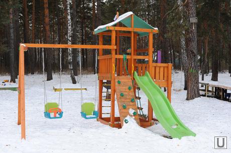 Теплый дом. Челябинск., детская площадка, детская площадка, горка, теплый дом, малые формы