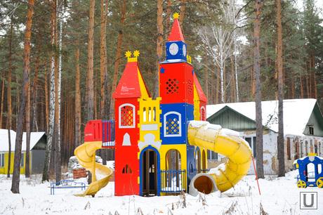 Теплый дом. Челябинск., детский городок, малые формы