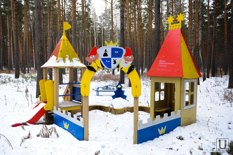 Теплый дом. Челябинск., детская площадка, детский городок, малые формы