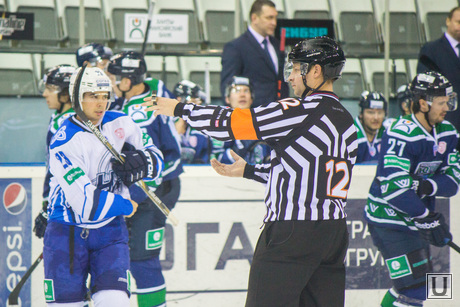 Хоккей. Югра-Нефтехимик. Ханты-Мансийск., хоккей, судья, арбитр