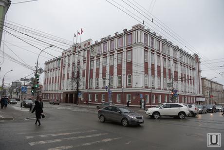 Виды города, основные здания и учреждения, памятники. Пермь, дума пермская городская