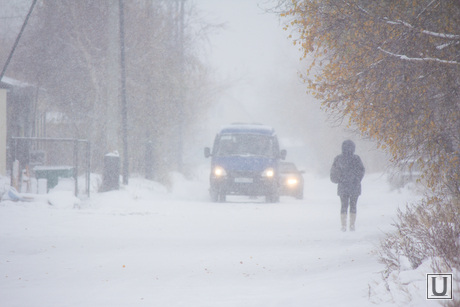 Деревяшки. Нижневартовск., снег, снегопад, зима, заморозки, метель
