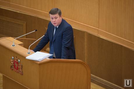 Заседание законодательного собрания СО по бюджету области на 2015 год. Екатеринбург, серебренников максим