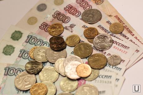 Клипарт, деньги, купюры, монеты