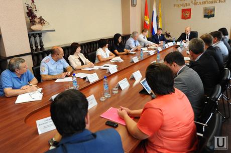 Аппаратное заседание администрации. Челябинск., аппаратное совещание