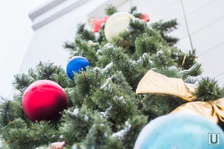 Клипарт. Новый Год. Ханты-Мансийск., елка, новый год, шары