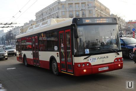 Автобусы. Челябинск., автобус, гортранс