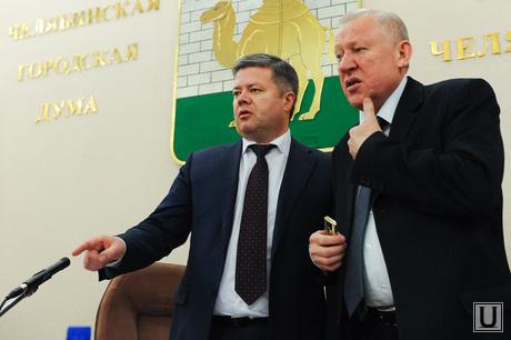 Городская дума. Челябинск., мошаров станислав, тефтелев евгений