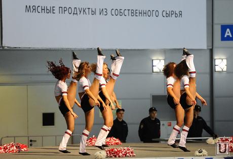 Хоккей. Трактор-Барыс. Челябинск., группа поддержки, мясные продукты из собственного сырья