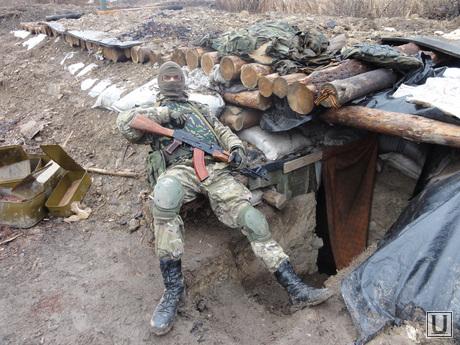 Фотографии с передовой. Украина. ДНР, солдат, война, блиндаж, окоп