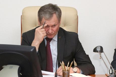 Совещание у Губернатора Курган, кокорин алексей
