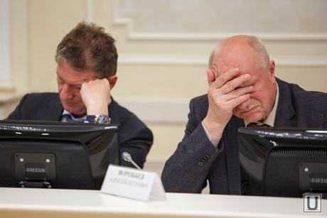 Оргкомитет по 300-летию Екатеринбурга в резиденции, воробьев алексей, козицын андрей
