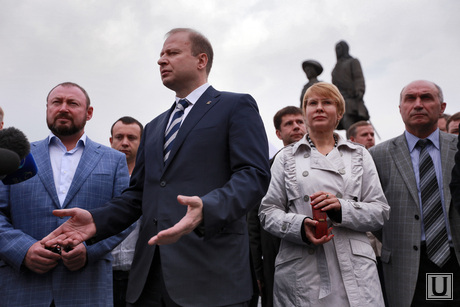 Митинг благодарности ЕР, шептий виктор, секретарь регионального политсовета единой россии, хунта шептия