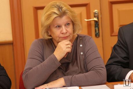 Заседание Общественной палаты города Кургана 5 состава, полякова валентина