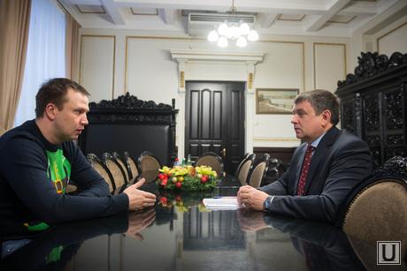 Встреча с Виктором Кокшаровым. Екатеринбург, кокшаров виктор, вьюгин михаил