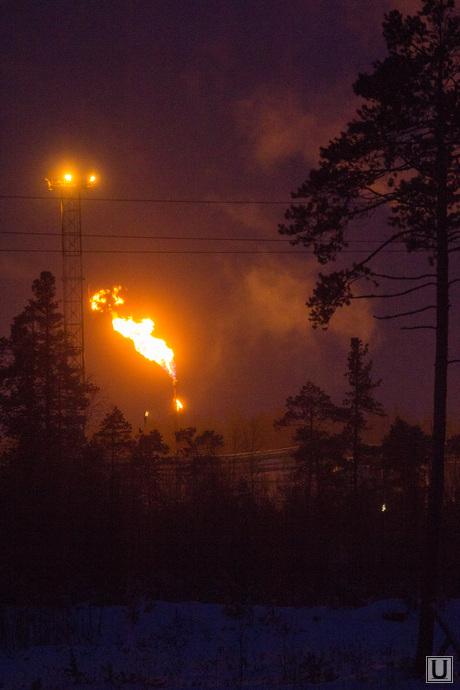 Клипарт. Север_2., огонь, газ, нефть, факел
