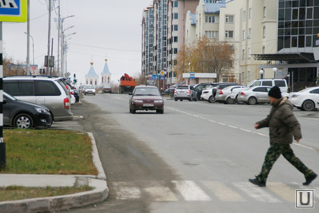 Улицы. Салехард, пешеходный переход, зебра, салехард, улицы