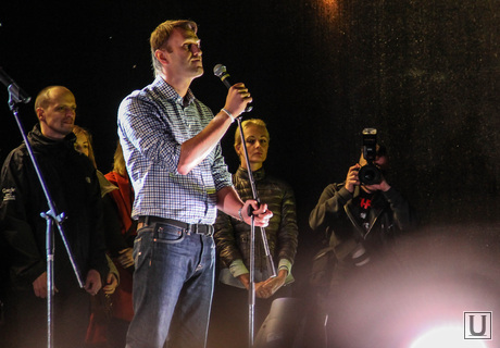 Алексей Навальный на митинге. Москва. Сентябрь 2013, навальный алексей