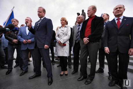 Митинг благодарности ЕР, шептий виктор, чепиков сергей, чечунова елена, савельев валерий, хунта шептия