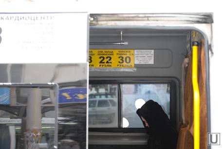 Маршрутки. Челябинск., пассажир, стоимость проезда