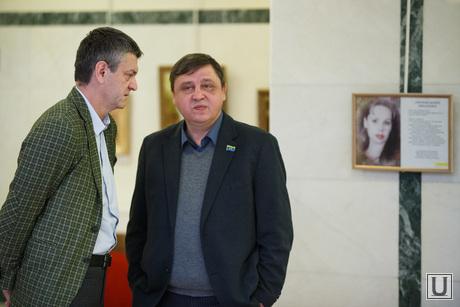 Депутаты гордумы после встречи с губернатором. Екатеринбург, гаранин михаил, норицын александр