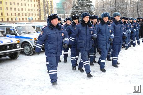 Полиция. Челябинск., полиция, парад, строй, дпс