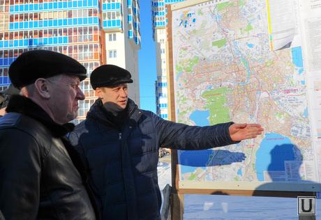 Пресс-конференция по строительству. Челябинск., передерий виталий, тефтелев евгений
