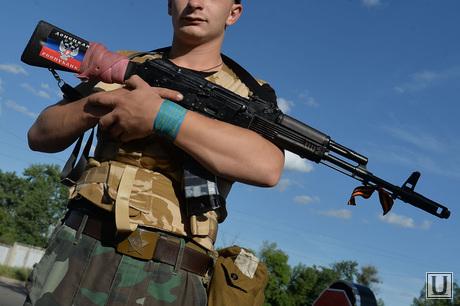 Краматорск. Бомбоубежище. Ополченец. Украина, солдат, донецкая народная республика, днр, ополченец