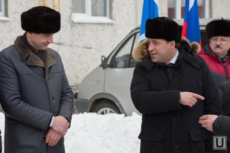 Куйвашев и Паслер в Североуральске. ., паслер денис, куйвашев евгений