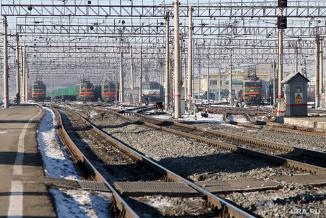 Железнодорожный вокзал. Курган, железная дорога
