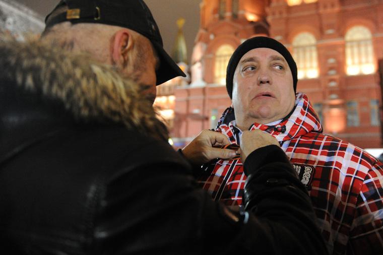 Сход в поддержку братьев Навальных на Манежной площади. Москва, клинцевич франц