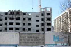 Строительство жилых домов. Курган, стройка, сму кпд