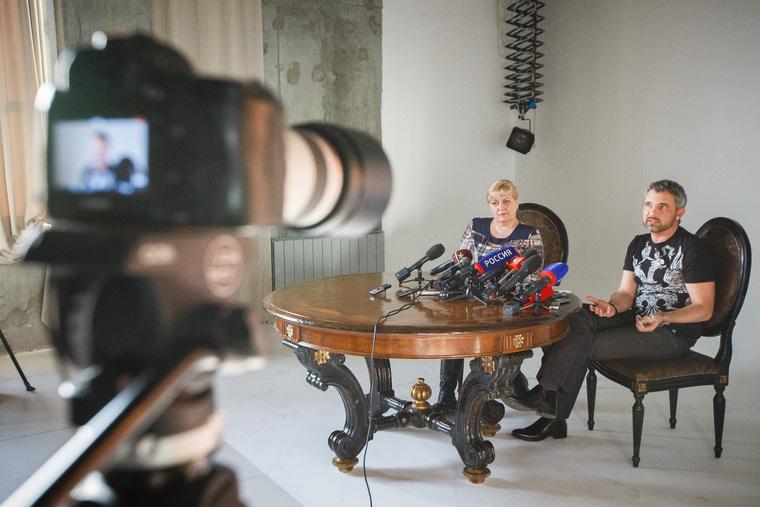 Пресс-конференция с участием фотографа Дмитрия Лошагина в Loft Studio. Екатеринбург