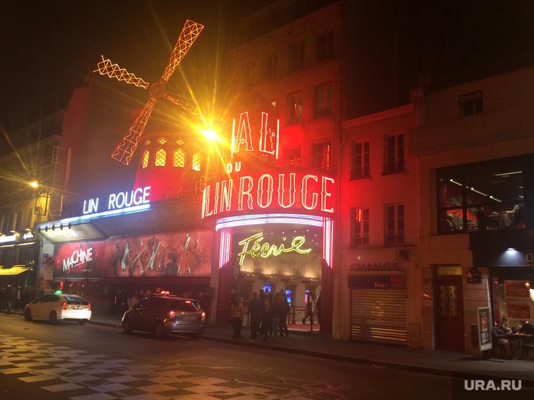 Париж, мельница, мулен руж, кабаре