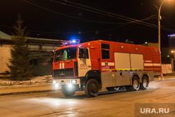 Пожар в ИК-2. Екатеринбург, пожарная машина