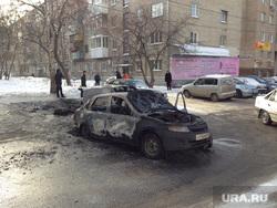 Сгоревшие машины на Шарташской. Екатеринбург, автомобили, утиль