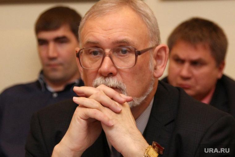 Комитет областной Думы по экономике Курган, кислицын василий, пальцы в замок