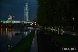 Вечер в Екатеринбурге, клипарт, набережная исети, высоцкий, вечер, екатеринбург