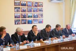 Встреча Евгения Куйвашева в исполкоме свердловского ЕР с гордумовскими единоросами. Екатеринбург