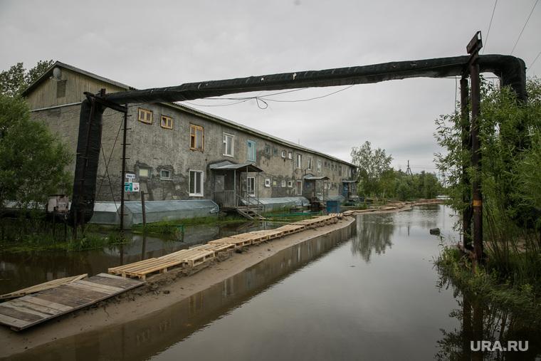 Наводнение. Нижневартовск