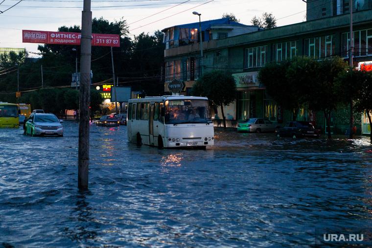 Последствия ливня г. Екатеринбург, наводнение