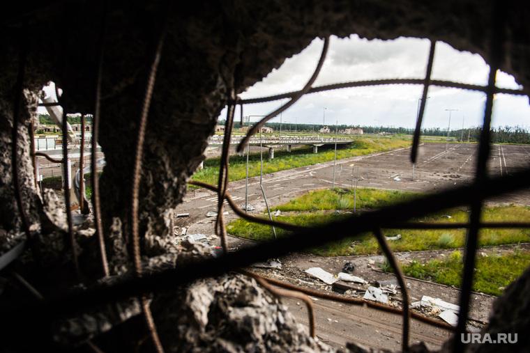 Донецкий аэропорт: новый терминал.